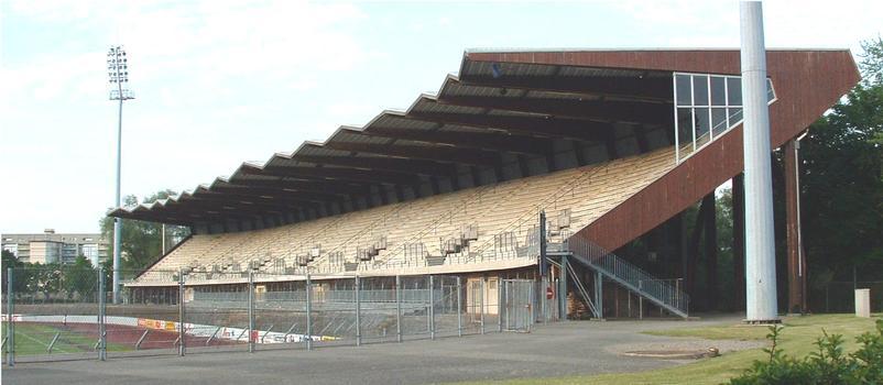 Mulhouse: Stade de l'Ill (Tribune sud).