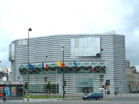 La Médiathèque d'Orléans (45-Loiret)