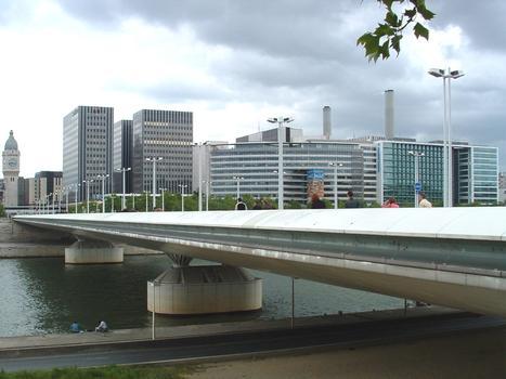 Charles de Gaulle Bridge, Paris.