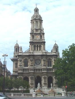 Paris IXème: Eglise de la Ste Trinité