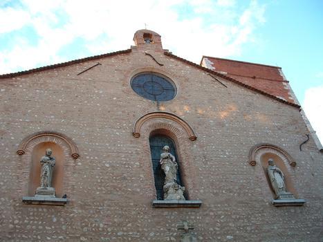 Perpignan: Eglise Notre Dame «La Real», édifiée au 14ème siècle