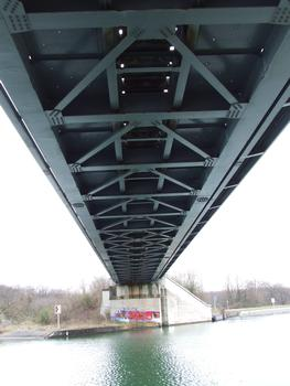 Eisenbahnbrücke Rixheim über den Rhone-Rhein-Kanal