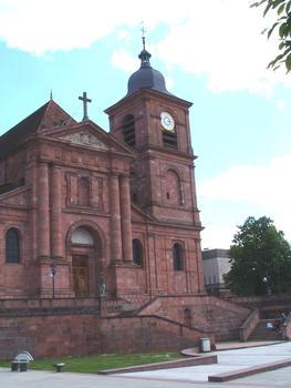 La cathédrale de St Dié des Vosges