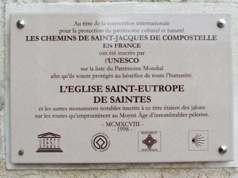 Saintes - Eglise Saint Eutrope