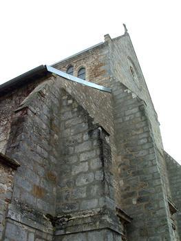Alte Kirche Saint-Jean in Sens, jetzt Teil der Ummauerung des Saint-Jean-Krankenhauses