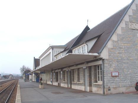 Soissons Railway Station