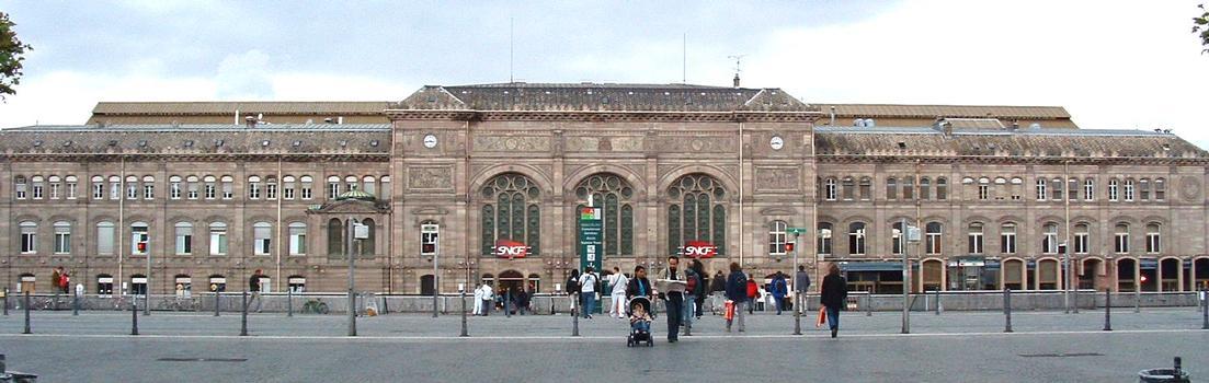 La Gare SNCF de Strasbourg.