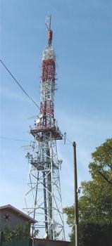 Bonhoure transmission tower.