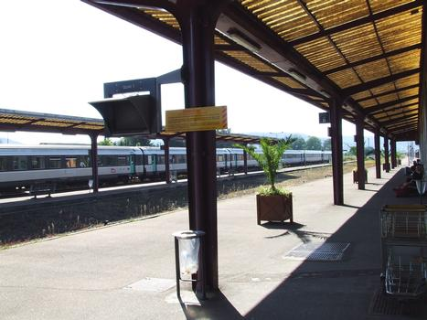 La gare SNCF de Vesoul