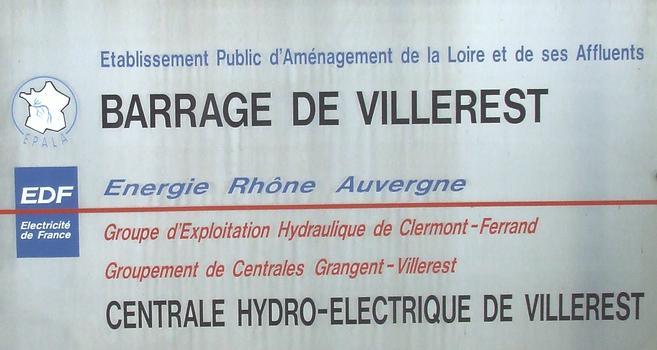 Talsperre Villerest