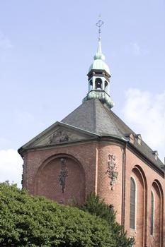 St. Gregorius im Elend, Köln-Altstadt-Süd, Sionstal/Arnold-von-Siegen-Str./Severinstr., 1765 erfolgte die Grundsteinlegung, Baumeister Krahkamp vollendete den Neubau und 1771 geweiht