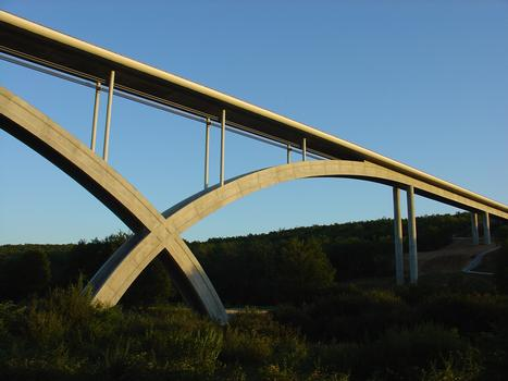 Anguienne Viaduct at sunset