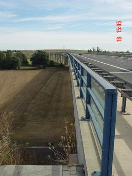 Autobahn A38 Pont de Schkortleben