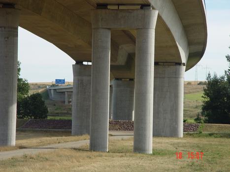 Autobahn A38Pont de Schkortleben