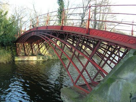 Hohe Brücke, Schlosspark Charlottenburg, Berlin