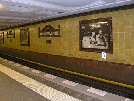 U-Bahnhof Fehrbelliner Platz, Berlin