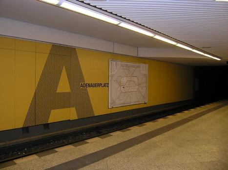 U-Bahnhof Adenauer Platz, Berlin