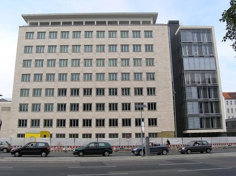 Neubau der Bundesbank, Berlin-Charlottenburg
