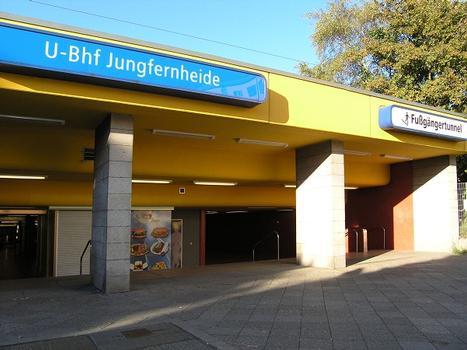 U-Bahnhof Jungfernheide, Berlin