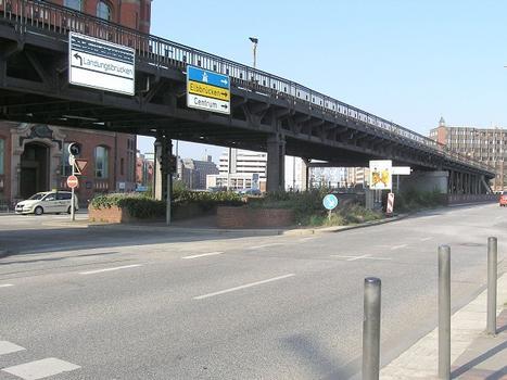Binnenhafenbrücke (U-Bahn), Hamburg