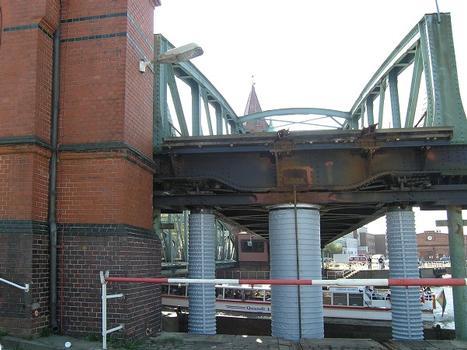 Pont ferroviaire sur le canal de Lübeck
