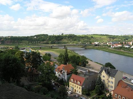 Pont sur l'Elbe à Meissen