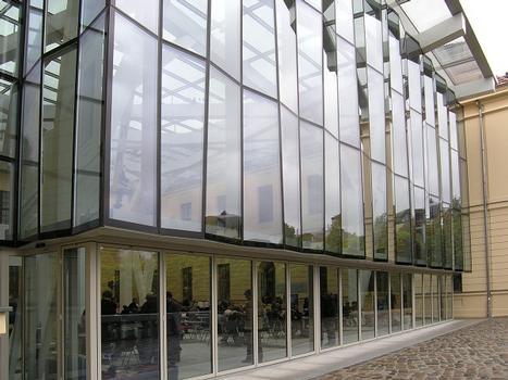 Musée juif - Cour en verre