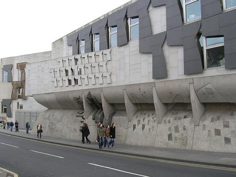 Holyrood Scottish Parliament Building, Edinburgh