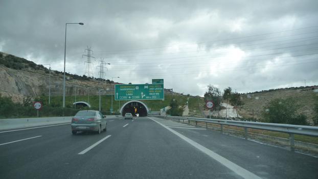 Attiki Odos, Mavri Ora Tunnel