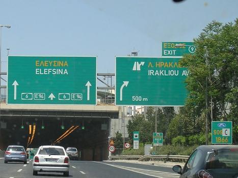 Iraklio Tunnel, Attiki Odos (GR)