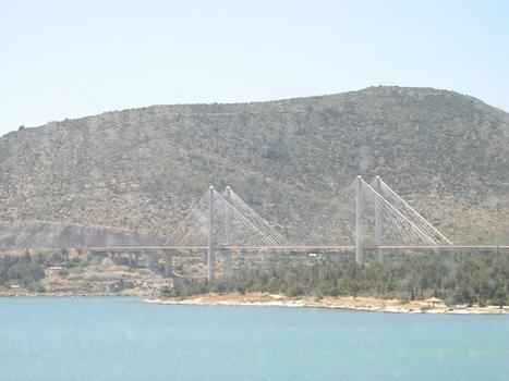 Evripos Brücke, Chalkis, Griechenland