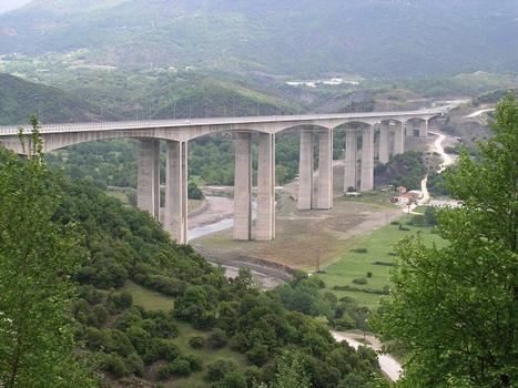 Arachthos-Brücke, Egnatia Odos, Griechenland