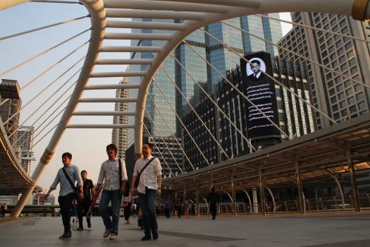 Chong Nonsi-Fußgängerbrücke