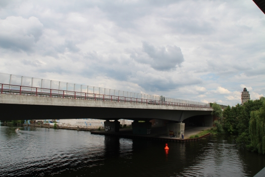 Autobahnbrücke über die Dahme