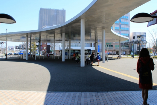 Station tramway de la gare de Kumamoto