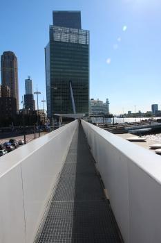 Brückeninstallation am Wilhelminaplein