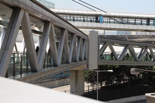 Olympic Station Exit A1 Skyway Bridge