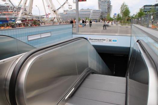 Überseequartier Metro Station