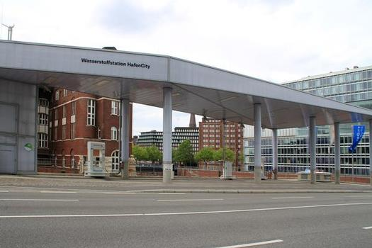 Station à hydrogène de la HafenCity