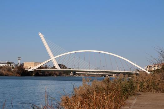 La Barqueta-Brücke