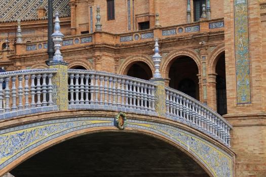 Plaza de España-Brücke