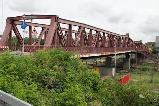 Friedensbrücke, Weil am Rhein