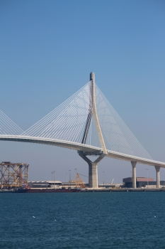 Zweite Brücke über die Bucht von Cádiz