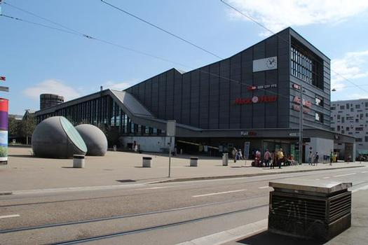 Bahnhof Passerelle Basel SBB