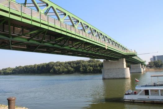Old Danube Bridge in Bratislava