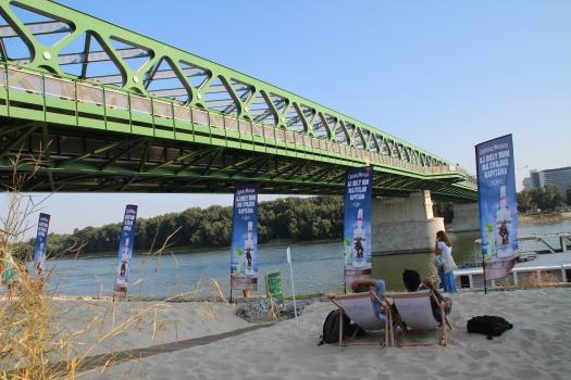 Vieux Pont sur le Danube à Bratislava