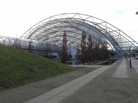 Messe Leipzig - Western entrance hall