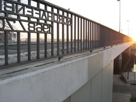 Nordhafenbrücke, Berlin