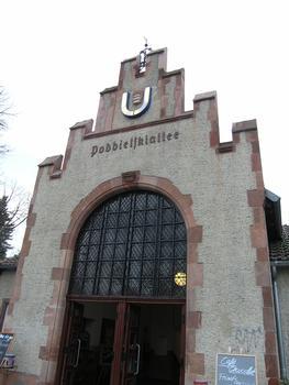 Station de métro «Podbielskiallee», Berlin