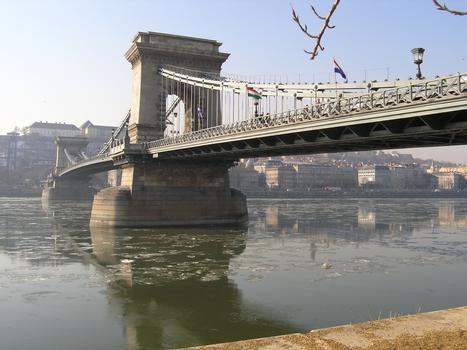 Pont suspendu à chaînes de Budapest